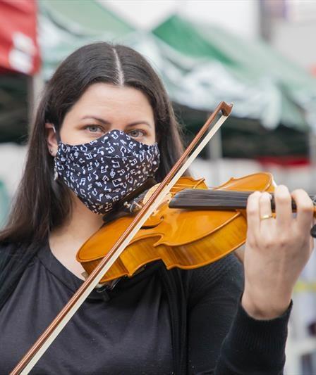 Serenata com violino