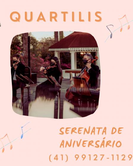 Serenata de aniversário em Curitiba